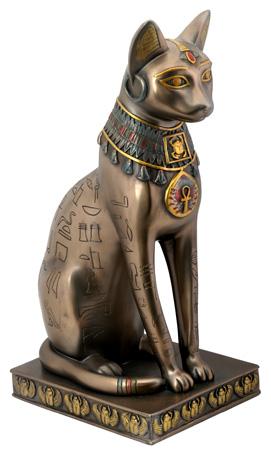 Black And Gold Egyptian Dog Collar